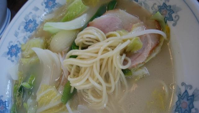 せとラーメン 野菜ラーメン 普通麺ストレート