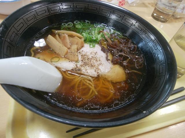 豊浜サービスエリア (上り) お食事処ひうち灘 醬油ラーメン