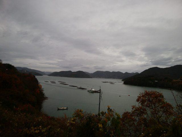 備前市日生町日生「頭島」から見た海