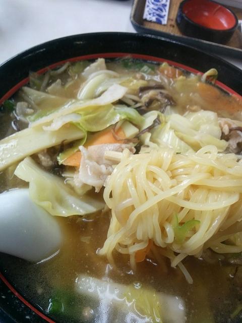 大阪屋食堂 チャンポン 細麺