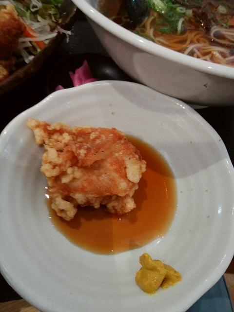 中華レストラン サンサンチャイナ から揚げにはからしだよね