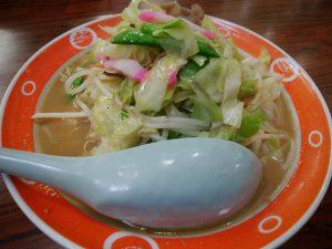 長崎ちゃんめん 伊福店 野菜たっぷりちゃんめん 味噌