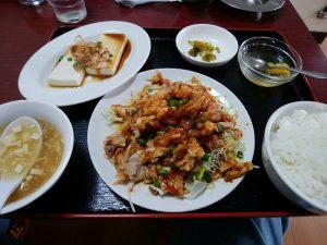 台湾料理 鑫源 (きんげん) 玉島店 油淋鶏定食
