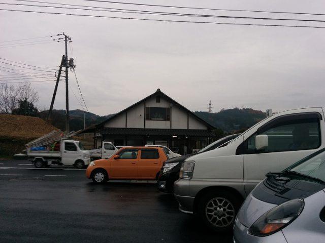 駐車場から中島ブロイラーを見たところ