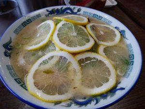 ラーメン太郎 名物レモンラーメン