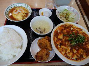中国料理 長城 春日店 麻婆豆腐定食